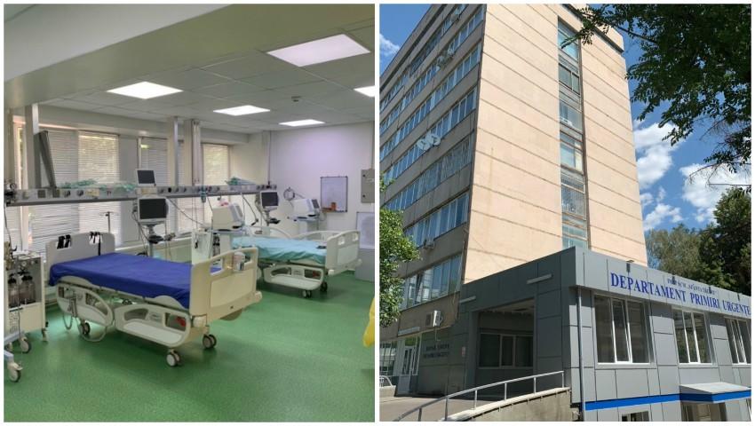 """7 secții Covid, cu 200 de locuri, au fost deschise în Spitalul clinic municipal ,,Sfânta Treime"""""""