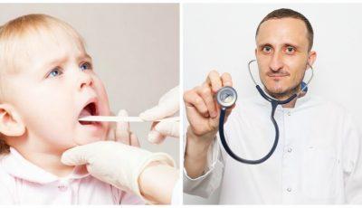 Roșu în gât sau angina la copii: cum se tratează. Sfaturi utile de la medicul Mihai Stratulat