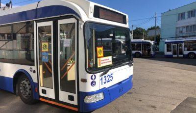 Orarul de circulație a troleibuzelor și autobuzelor destinate pentru transportarea copiilor și elevilor