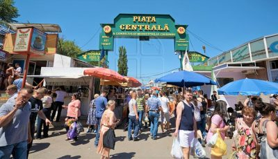 Piața Centrală din Chișinău a revenit la programul obișnuit de activitate