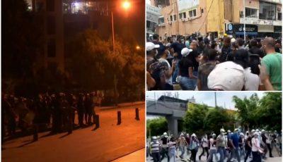 Proteste masive în Liban. Forţele de ordine au folosit gaze lacrimogene