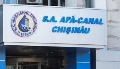 Apă-Canal Chișinău lansează platforma de autocitire