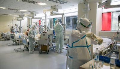 Coronavirus: circa 500 de persoane sunt internate în stare gravă, iar 1.234 – în stare de gravitate medie