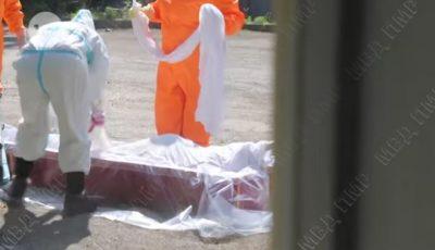 Imagini cu impact emoțional. Cum sunt pregătiți pentru înhumare pacienții decedați de coronavirus, în Transnistria
