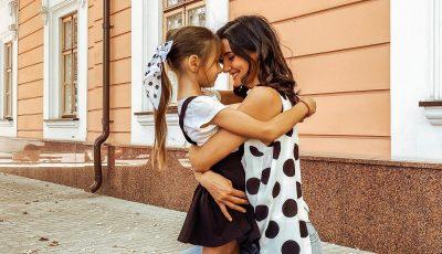 Emoții mari! Fiica cea mare a Liliei Ojovan a mers astăzi prima zi la școală
