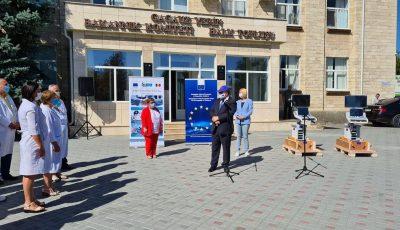 Două aparate moderne de ultrasonografie, oferite de către Uniunea Europeană pentru spitalele din Ceadâr-Lunga și Comrat