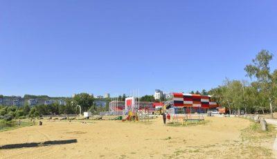 Un parc din Chișinău va avea cabine de schimb și de duș