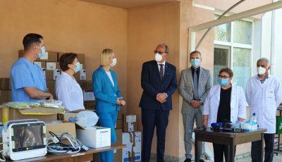 Guvernul României a donat echipamente medicale spitalului din Comrat