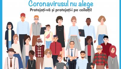 Covid-19: Doar împreună putem opri pandemia și stigmatizarea!