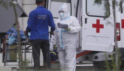 Rusia raportează aproape 5.500 de cazuri noi de coronavirus