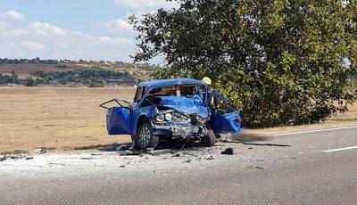 Durere fără margini: tată și fiică, morți în accident. Un șofer fără permis de conducere le-a luat zilele