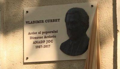 """O placă comemorativă inaugurată în cinstea lui Vladimir Curbet, fondatorul ansamblului ,,Joc"""""""