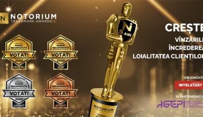 """Ultimele zile de înscriere a Mărcilor comerciale în Concursul ,,Notorium Trademark Awards"""""""