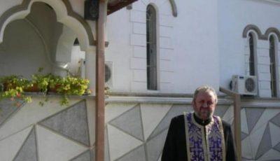 Preotul Vasile Ailioaiei, născut lângă Humulești, a murit de Covid-19