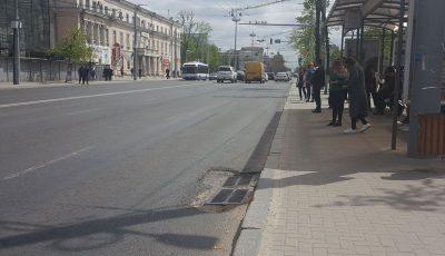 Un bărbat de 40 de ani, găsit fără suflare și plin de sânge pe bulevardul Ștefan cel Mare