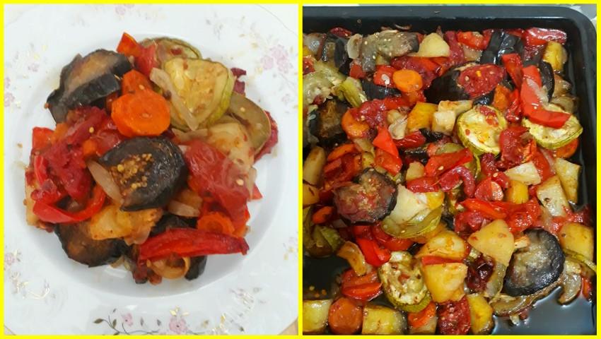 Foto: Legume aromate la cuptor. Rețetă grecească