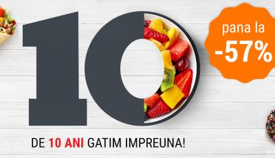 Sărbătorim 10 ani Delimano cu Oferte speciale la produsele de TOP!