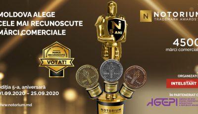 """Concursul Mărcilor Recunoscute ,,Notorium"""" revine cu a V-a ediție și cu un proiect nou – Notorium Wine Awards"""