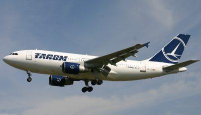 Compania Tarom suspendă zborurile cu Republica Moldova