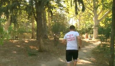 Un tânăr aleargă în jurul Moldovei pentru a ajuta o fetiță cu amiotrofie spinală. Să-l susținem împreună!