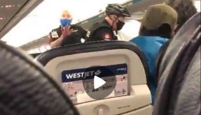 O familie a fost scoasă cu forța din avion, deoarece copilul de 3 ani nu purta mască