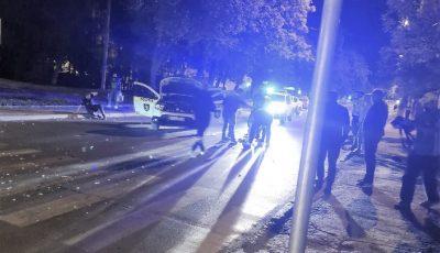 Mai mulți polițiști, răniți într-un accident violent produs în Capitală