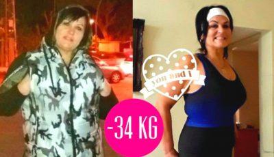 Maia, stabilită în Israel, a slăbit 34 de kg și dezvăluie istoria ei de succes!