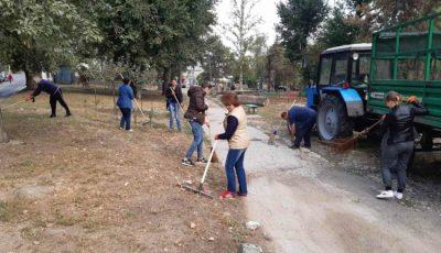 În Chișinău a avut loc marea curățenie