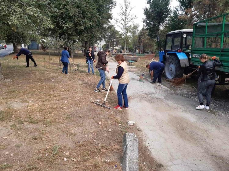Foto: În Chișinău a avut loc marea curățenie