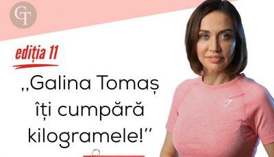 """Află ce surpriză le așteaptă pe toate participantele celei de-a 11-a ediții a proiectului ,,Galina Tomaș îți cumpără kilogramele""""!"""