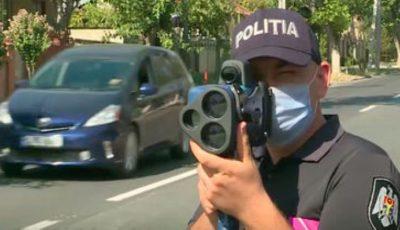 Polițiștii de patrulare, dotați cu radare noi care le vor ușura semnificativ munca