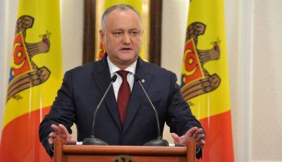 Președintele Igor Dodon va mai merge o dată în Rusia, pentru a testa vaccinul