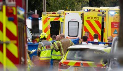 O mașină a intrat într-un grup de copii la Londra. Sunt 11 răniți