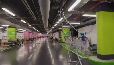 Israel tratează bolnavii de Covid-19 într-o parcare subterană transformată în spital