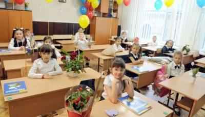 Peste 35.000 de copii au mers anul acesta în clasa întâi