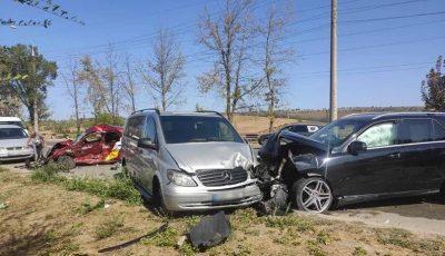 Accident de groază în Capitală. Un taximetrist de 36 de ani a decedat pe loc