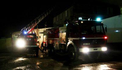 Incendiu într-un apartament din Bălți. Doi tineri, internați în spital