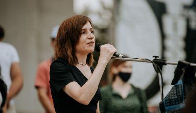 Maia Sandu a fost înregistrată oficial în cursa prezidențială