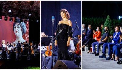 """Primul concert a avut loc în aer liber! Festivalul Internațional de Operă """"Maria Bieșu"""" a ajuns la a 28-a ediție"""