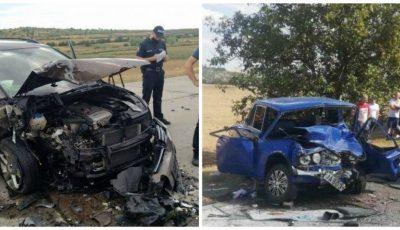 Accident îngrozitor la Cimișlia. Un șofer nevinovat a murit pe loc, iar 7 pasageri au avut de suferit