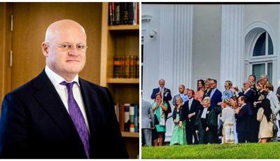 Ministru olandez, amendat pentru că n-a păstrat distanța socială la propria nuntă