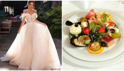 O mireasă a pregătit meniuri diferite pentru invitaţi, în funcţie de valoarea darului de nuntă