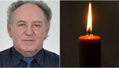 Doliu în medicină. Profesorul Alexei Sofroni a decedat, fiind răpus de complicațiile infecției Covid-19