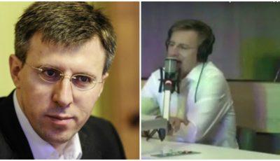"Video! Dorin Chirtoacă interpretează la radio piesa ,,Frumoasa mea"""