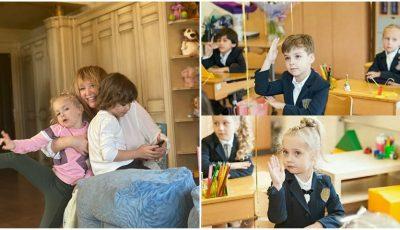 Alla Pugacheva și Maxim Galkin, de 7 ani părinți. Cum și-au felicitat gemenii?