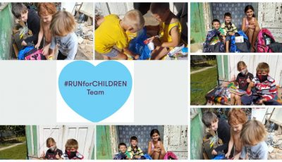 225 de oameni au alergat pentru a contribui ca 270 de copiii să poată avea acces la educație