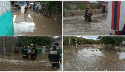 Ploile fac prăpăd în țară: poduri stricate, oameni cărați în spate din calea puhoaielor, case inundate