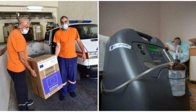 356 concentratoare de oxigen, livrate Moldovei de către Uniunea Europeană și Organizația Mondială a Sănătății