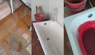 Condiții greu de imaginat într-un spital din țară: apa nu curge, toaleta e înfundată