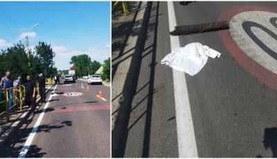 O fetiță de 7 ani din Florești, lovită mortal de un șofer care circula cu viteză excesivă